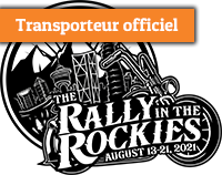 Transporteur officiel The rally in the rockies
